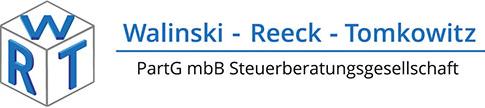 Datenschutz | Walinski – Reeck – Tomkowitz · WRT PartG mbB Steuerberatungsgesellschaft in 45894 Gelsenkirchen-Buer